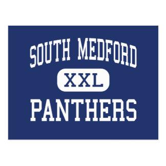 Medford del sur - panteras - alto - Medford Oregon Tarjeta Postal