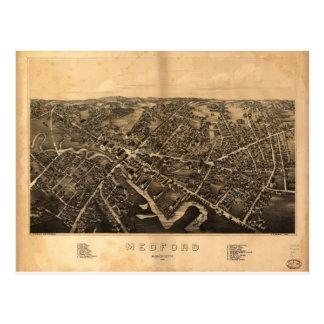 Medford Massachusetts in 1880 Postcard