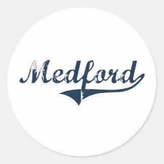 Medford New York Classic Design Stickers