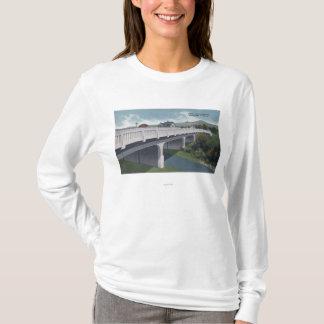 Medford, Oregon - Bear Creek Bridge View T-Shirt