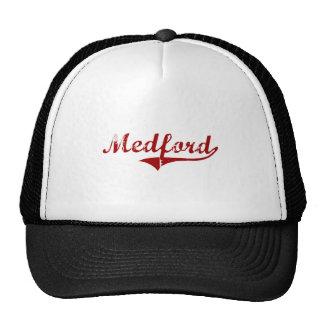 Medford Wisconsin Classic Design Mesh Hats