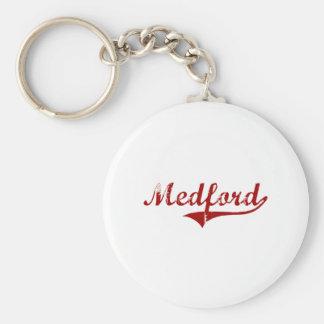 Medford Wisconsin Classic Design Keychain