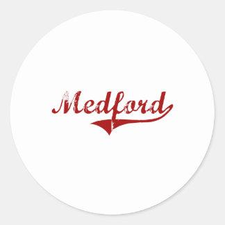 Medford Wisconsin Classic Design Sticker