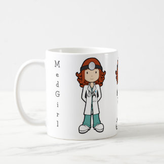 MedGirl Coffee Mug
