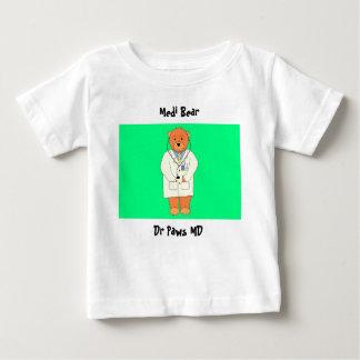 Medi Bear, Dr Paws MD Baby T-Shirt