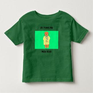 Medi Bear, Dr. Paws MD Toddler T-shirt