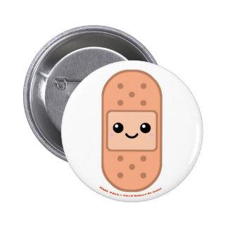 Medi Pals Bandage Pinback Button