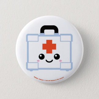 Medi Pals First Aid Kit Pinback Button