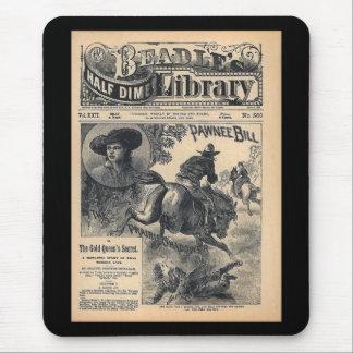 Media biblioteca vol. XXII de la moneda de diez Mouse Pad