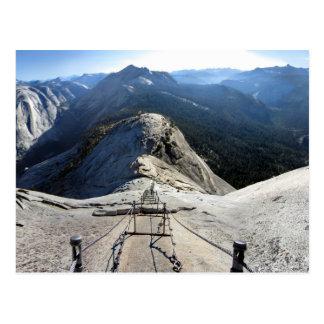 Media bóveda de los cables - Yosemite Tarjeta Postal
