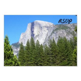 """Media bóveda de Yosemite Invitación 3.5"""" X 5"""""""