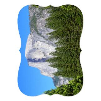 """Media bóveda de Yosemite Invitación 5"""" X 7"""""""