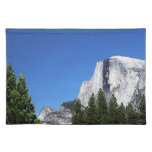 Media bóveda de Yosemite Manteles Individuales