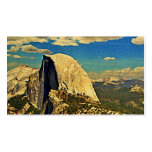 Media bóveda de Yosemite Tarjeta De Visita