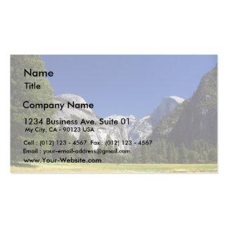 Media bóveda en el parque nacional de Yosemite Tarjeta De Visita