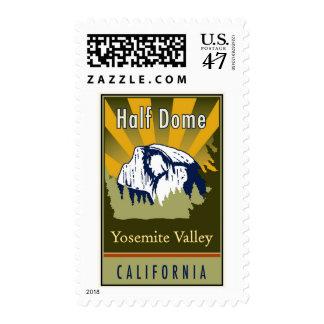 Media bóveda timbre postal