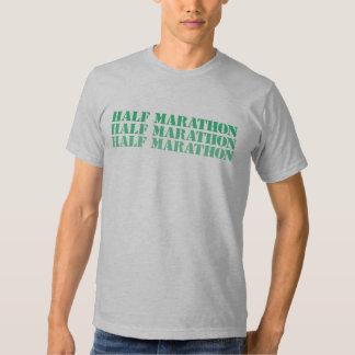 Media camisa del maratón
