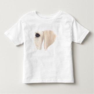 Media cara del primer de Labrador amarillo T Shirt