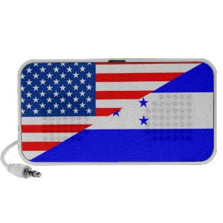 media cuenta de los E.E.U.U. de la bandera de Portátil Altavoz