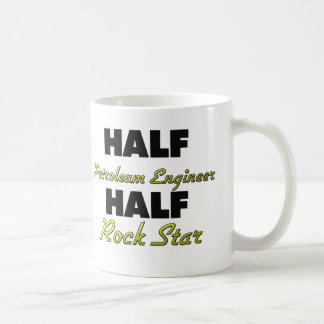Media estrella del rock del medio ingeniero del pe taza de café