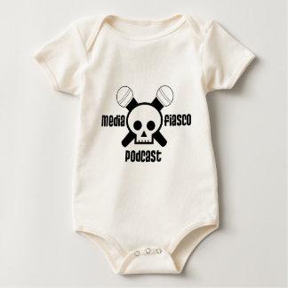 Media Fiasco Podcast Baby Bodysuit
