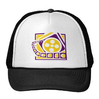 Media Film Reel Trucker Hat