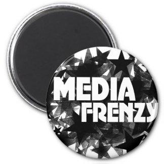 Media Frenzy Magnet