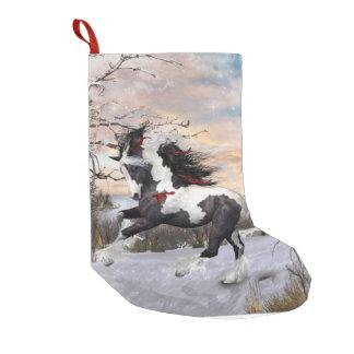 Media gitana del caballo de Vanner Bota Navideña Pequeña