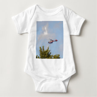 Media Helicopter Baby Bodysuit