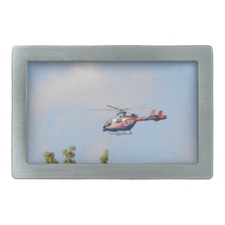 Media Helicopter Belt Buckle