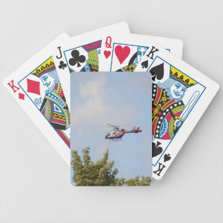 Media Helicopter Bicycle Playing Cards
