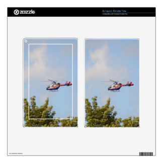 Media Helicopter Decal For Kindle Fire