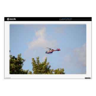 "Media Helicopter Decals For 17"" Laptops"
