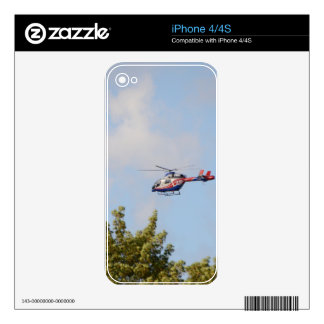 Media Helicopter Decals For iPhone 4S