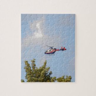 Media Helicopter Jigsaw Puzzle