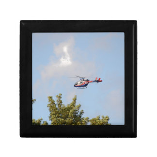 Media Helicopter Keepsake Box