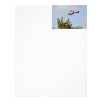 Media Helicopter Letterhead