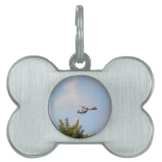 Media Helicopter Pet ID Tag