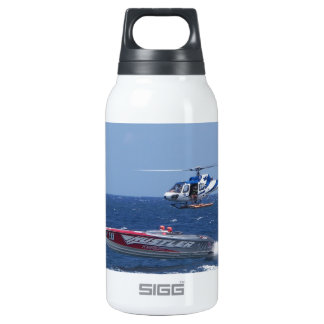 Media Helicopter Thermos Water Bottle