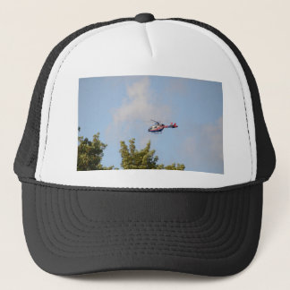 Media Helicopter Trucker Hat