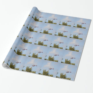 Media Helicopter Wrapping Paper