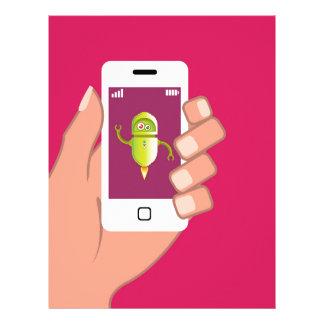 Media Helper Robot Phone App Letterhead