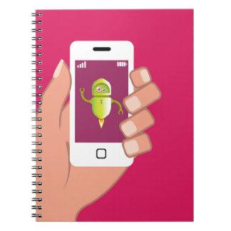 Media Helper Robot Phone App Notebook
