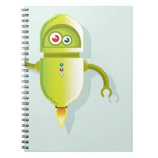 Media Helper vector Spiral Notebook