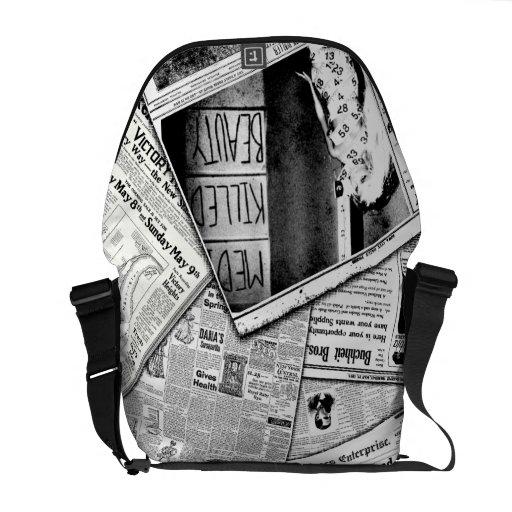 Media killed beauty messenger bags