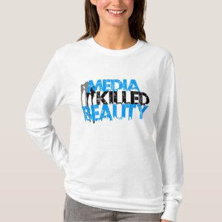 Media Killed Beauty Splatter T-Shirt