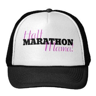 Media mamá del maratón gorras