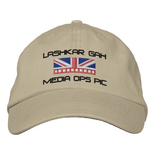 Media Ops PIC Embroidered Baseball Hat