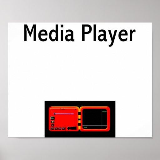 Media Player Poster
