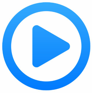 Media player Sign Cut Out